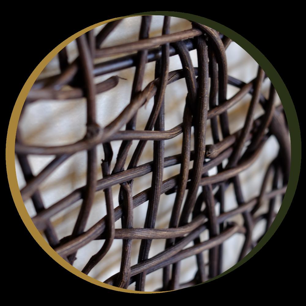 Weaved wood